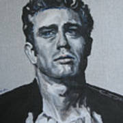 James Dean One Poster