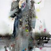 James Dean - Watercolor Portrait.3 Poster