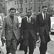 James Meridith And Ole Miss Integration 1962 Poster