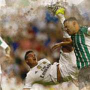 James Rodriguez Performs An Overhead Kick  Poster