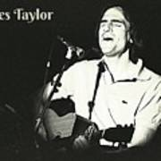 James Taylor Poster Poster