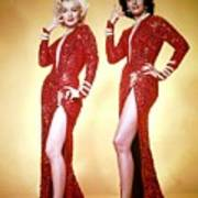 Jane Russel And Marilyn Monroe Poster