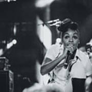 Janelle Monae Playing Live Poster