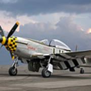 Janie P-51 Poster