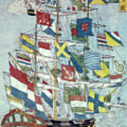 Japan: Dutch Ship Poster