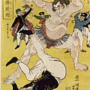 Japan: Sumo Wrestling Poster
