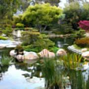 Japanese Garden Panorama 2 Poster