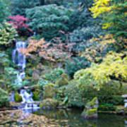 Zen Japanese Garden Poster