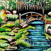 Japanese Tea Gardens Poster