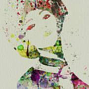 Japanese Woman Poster by Naxart Studio