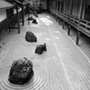 Japanese Zen Garden Poster