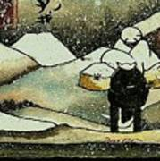 Japenese Winter Poster
