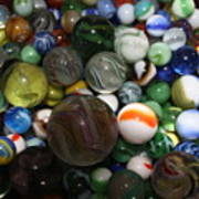 Jar Of Marbles Poster
