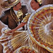 Jarabe Tapatio Dance Poster