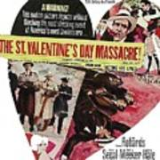Jason Robards As Al Capone Theatrical Poster The St. Valentines Day Massacre 1967  Poster