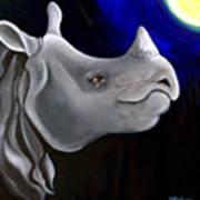 Javan Rhino Poster