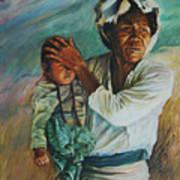 Javanese Woman Poster