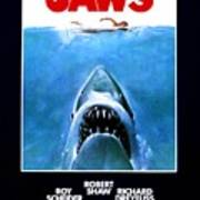Jaws Movie Poster - 1975 Poster