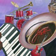 Jazz At Sunset Poster