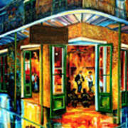 Jazz At The Maison Bourbon Poster by Diane Millsap