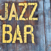 Jazz Bar Poster by Keith Sanders