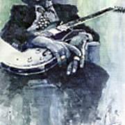 Jazz Bluesman John Lee Hooker 04 Poster