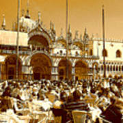 Jazz In Piazza San Marco Poster
