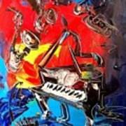 Jazz Piano Poster