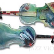 Jazz Violin - Poster Poster