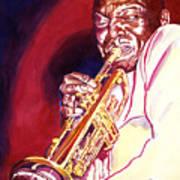 Jazzman Cootie Williams Poster by David Lloyd Glover