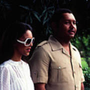 Jean-claude Duvalier And Michelle Bennett Poster