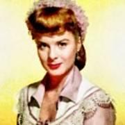 Jean Peters, Vintage Actress Poster