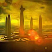 Jedi Temple - Pa Poster