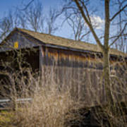 Jediah Hill Covered Bridge Poster