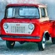 Jeep 1959 Fc150 Forward Control Pickup Poster
