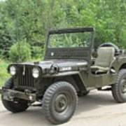 Jeep At Hydes Creek Poster