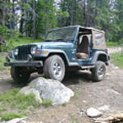 Jeep Wrangler Poster