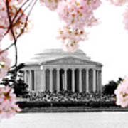 Jefferson In Spring Poster