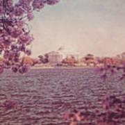 Jefferson Memorial During Spring Poster