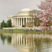 Jefferson Memorial Reflection I Poster
