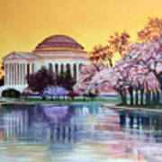 Jefferson Monument Poster