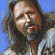 Jeffrey Lebowski - The Dude Poster by Buffalo Bonker