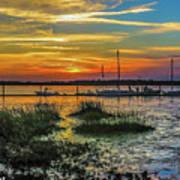 Jekyl Island Sunset Poster