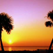 Jekyll Island Sunrise Poster