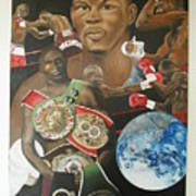 Jermain Taylor Montage Poster