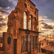 Jerome Market Ruins Poster