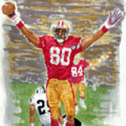 Jerry Rice The Greatest Poster