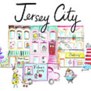 Jersey City Poster
