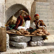 Jerusalem - Bread Seller Poster