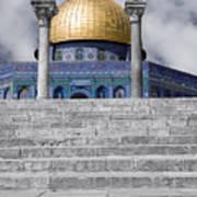 Jerusalem - The Dome Poster